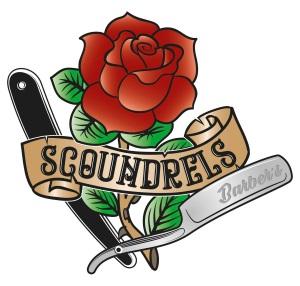 Logo Scoundrels Barbers